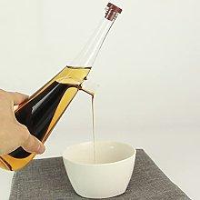 XKMY Oil can Home Glass Olive Oil Dispenser Bottle