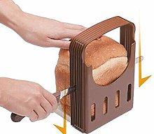XKONG Bread Slicer, Toast Bread Slicer,A Useful