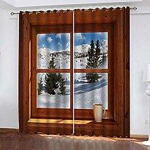 XKSJWY Blackout Curtains For Kids Bedroom Super