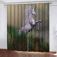 XKSJWY Blackout Curtains For Living Room Bedroom