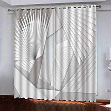 XKSJWY Eyelet Curtains For Living Room 280X260Cm