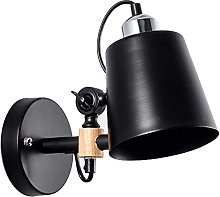XKUN Adjustable Metal Wall Sconce, LED Modern