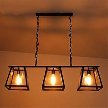 XKUN Ceiling Light Modern Industrial Chandelier
