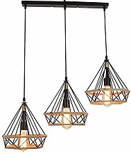 XKUN Ceiling Light Retro Pendant Chandeliers