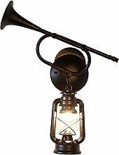 XKUN Horn Wall Lamp, Vintage Wall Light, Antique