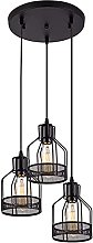 XKUN Industrial Dining Room Chandelier Retro