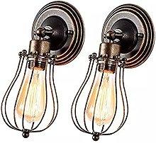 XKUN Industrial Vintage Wall Light,Adjustable