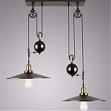 XKUN Kitchen Island Light Pulley Pendant Light