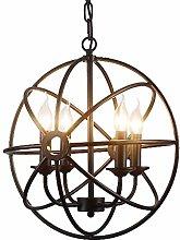 XKUN Led Ceiling Lights, Ring Metal Lamp Lighting
