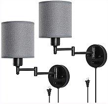 XKUN Plug in Wall Light Fixtures, Wall Sconce