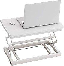 XKun standing desk converter, computer folding