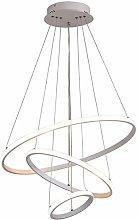 XKUN Three Rings Chandelier Lighting Ceiling Light