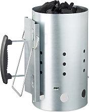 XL Charcoal Chimney Starter, Steel, BBQ Lighter,