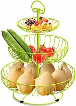 XL_FRUIT 3 Tier Fruit Basket Stand, Fruit Etagere