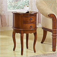 XLEVE Glass Corner Table Simple Net Red Side Table