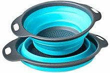 XLGJCWQY Sieve Strainer Kithchen Collapsible