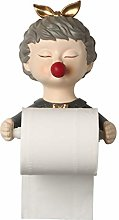 XLHH Toilet Paper Holder Towel Holder with Girl
