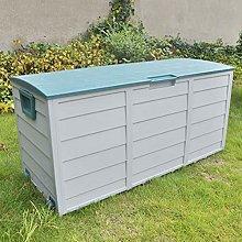 XLLLL Bike Storage Box Plastic Wheelie Bin Shed