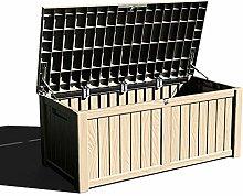 XLLLL Storage Box Plastic Wheelie Bin Shed Garden