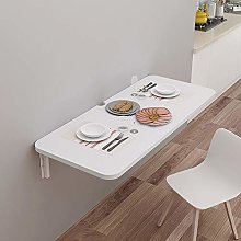 XLO 2-in-1 Wall-Mounted Floating Table Desk,