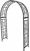 XLOO Metal Garden Arbor Wedding Arch,Climbing