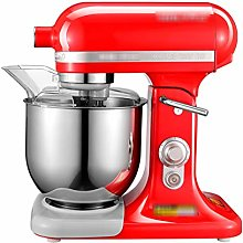 XLSQW Tilt-Head Stand Mixer, 7L 500W 11-Speed Food