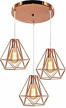 XMAGG Retro Style Copper Metal Basket Cage Ceiling
