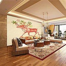 XMDPFF Wall Decals Animal, Deer, Art 260X175Cm