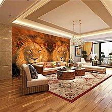 XMDPFF Wall Decals Animal Lion Art 260X175Cm Wall