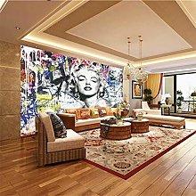 XMDPFF Wall Decals Art, Painted, Woman 260X175Cm