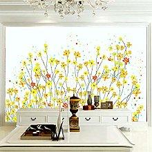 XMDPFF Wall Postercreative, Yellow, Flowers