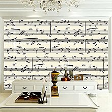 XMDPFF Wall Postermusic, Notes, Lines 260X175Cm