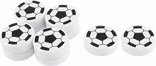 XMHF Football Shape Magnetic Sticker Round Soccer