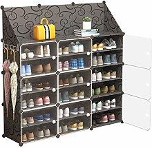 XMSIA Portable Shoe Rack Storage Storage Organizer