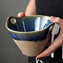 xmwm Ceramic Fruit Bowl Ceramic Salad Bowl with