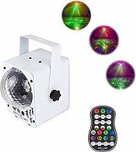 XMYL Magic Ball Flash Stage Lights LED Colorful