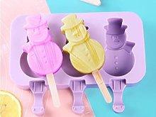 XMYNB Ice Cream Mold Ice Tray Silicone Ice Cream