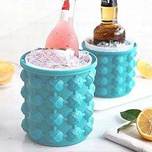 XMYNB Ice Cube Trays Portable Ice Bucket Silicone