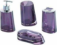 Purple Bathroom Accessories, Plum Coloured Bathroom Accessories