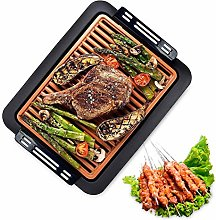 XNDCYX Electric Griddles, Smokeless Electric