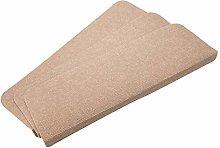 XOCKYE 15 Pcs Adhesive Carpet Stair Treads Mats
