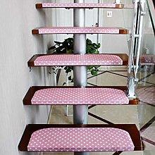 XOCKYE 15 pcs Stair Pads Non-slip Carpet Stair