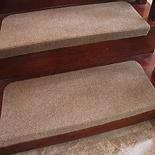 XOCKYE 15 piece set Stair Pads Step Carpet Non