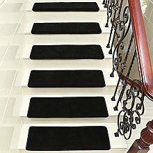 XOCKYE Non Slip Stair Carpet Tread Mats,15 Pieces