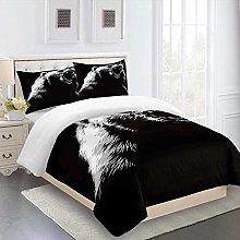 XOYKX Bedding Printed Duvet Cover Set - Double