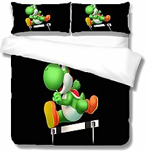 XOYKX Bedding Printed Duvet Cover Set - Super King