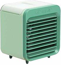 XPfj Air Cooler Fan Mini Desktop Air Conditioner