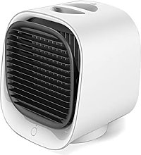 XPfj USB Mini Air Conditioner with Colorful Light