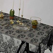 XPUING Lace Tablecloth Rectangular Vintage