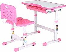 XQAQX Adjustable Study Desk, Adjustable Kids Study